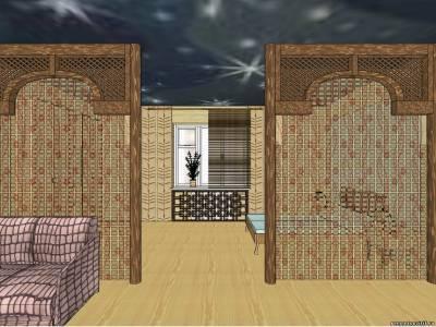 Спальня и гостиная в одной комнате дизайн