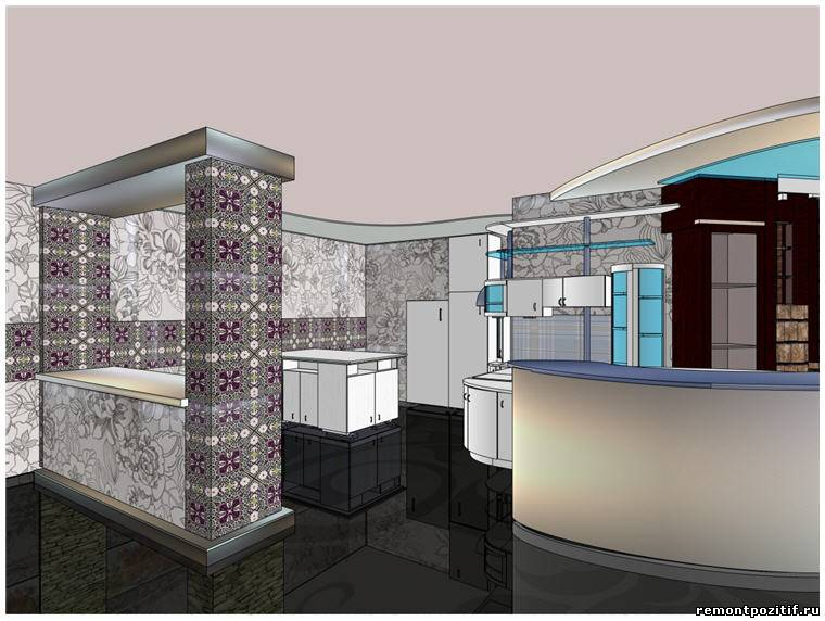 дизайн квартиры студии для молодых