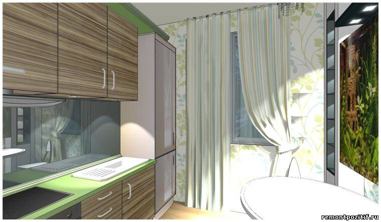Дизайн кухни 5 кв м. Фото кухни 5 метров.