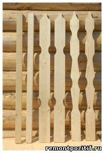 Изготовление штакетника деревянного своими руками