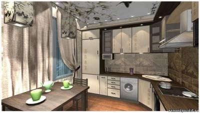 Дизайн интерьера кухни 8 кв м