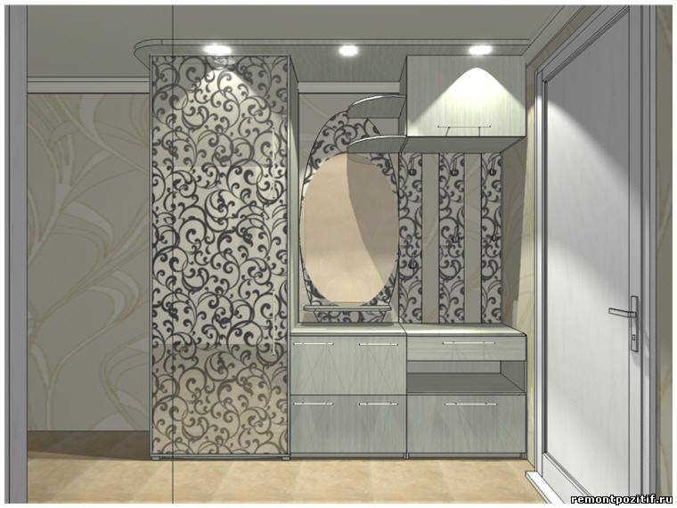 холодильник в коридоре фото дизайн