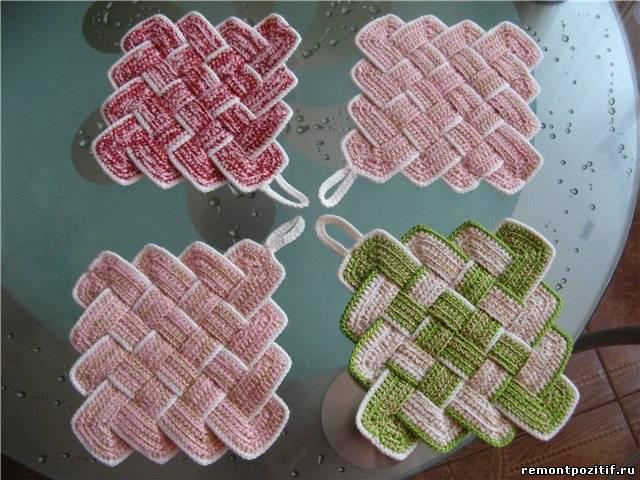 Вязание жгутов из бисера
